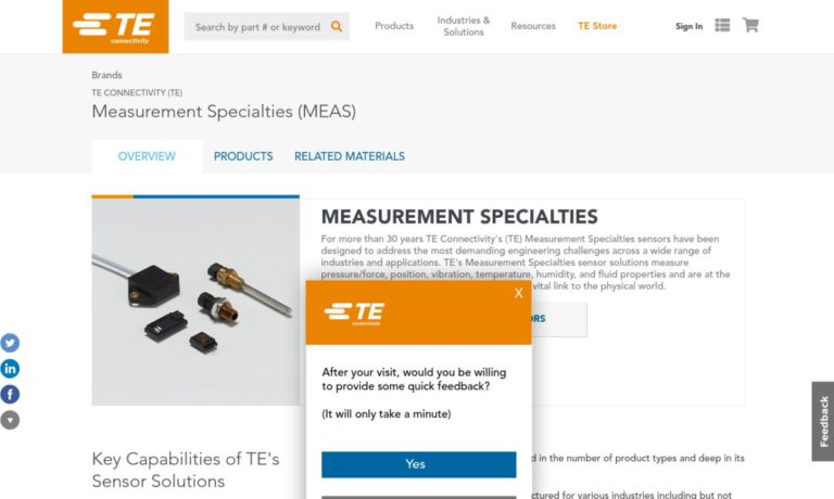 Measurement Specialties, Inc.